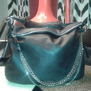 Jimmy Choo Boho Biker hobo bag